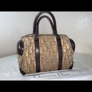 Authentic Christian Dior trotter speedy Boston bag
